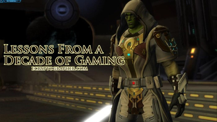 swtor lessons